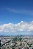空中巴黎 免版税图库摄影