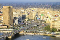 空中开罗 库存照片