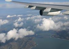 空中弗朗西斯科・圣查阅 库存照片