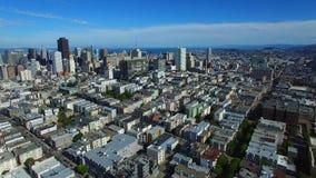 空中录影旧金山4k 股票录像