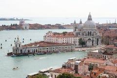 空中意大利威尼斯视图 库存照片