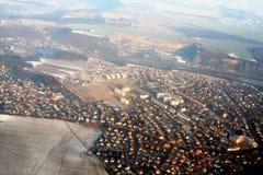 空中捷克共和国查阅 免版税图库摄影