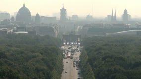 空中柏林都市风景 影视素材