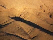 空中沙漠视图 库存照片