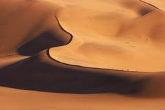 空中沙漠namib视图 库存图片