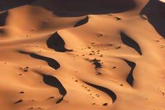 空中沙漠namib视图 图库摄影