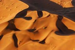 空中沙漠namib视图 免版税图库摄影