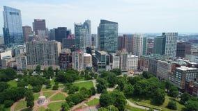 空中波士顿4k 股票视频