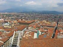 空中波隆纳城市意大利视图 图库摄影