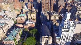 空中游览曼哈顿 股票视频