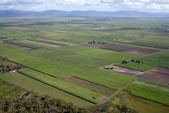 空中澳大利亚农场 免版税库存照片