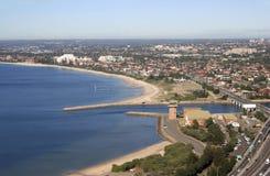 空中澳洲悉尼视图 库存照片