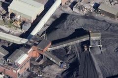 空中煤矿 库存图片