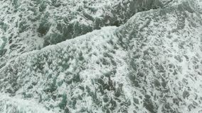 空中的波浪 股票录像