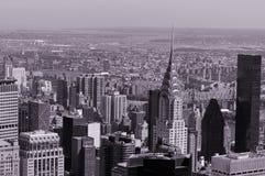 空中纽约 库存图片