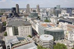 空中结构欧洲伦敦英国视图 免版税库存照片