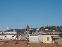 空中维罗纳视图 免版税图库摄影