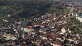 空中老镇中心,布拉格,捷克 股票视频