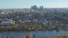 空中老镇中心,布拉格,捷克 股票录像