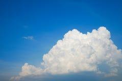 空中背景覆盖天空视图 库存图片