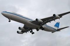 空中航线科威特 库存图片