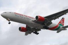 空中航线肯尼亚 免版税图库摄影