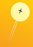 空中航线 免版税库存照片