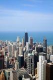 空中芝加哥视图 免版税图库摄影
