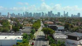 空中英尺长度一点哈瓦那迈阿密FL 股票视频