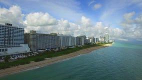 空中迈阿密海滩2 股票录像