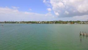 空中迈阿密海滩 股票视频