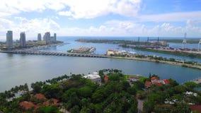 空中迈阿密海滩4k 影视素材