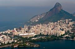 空中里约热内卢风景 库存图片