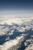 空中阿拉斯加定住 免版税图库摄影