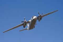 空中飞机俄语 免版税图库摄影