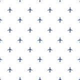 空中飞机旅行运输背景 免版税库存照片