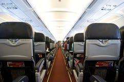 空中飞机 免版税库存照片