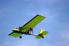 空中飞机 免版税库存图片