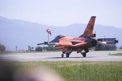 空中飞机 库存照片