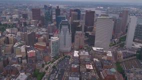 空中马萨诸塞波士顿7月2017晴天4K启发2 影视素材