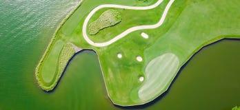 空中高尔夫球场县俱乐部奥斯汀,得克萨斯,美国 免版税库存照片