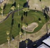 空中高尔夫球 库存图片