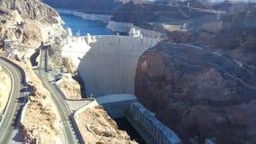 空中水坝真空吸尘器视图 免版税库存图片