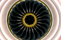 空中巴士引擎 库存图片