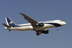 空中巴士A320-212 免版税图库摄影