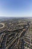 空中Camarillo加利福尼亚的邻里 免版税库存图片