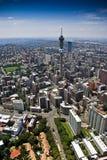 空中cbd约翰内斯堡视图 库存图片