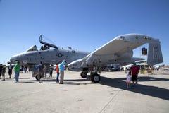 空军实力商展在沃思堡 免版税库存照片