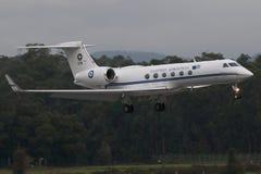 空军希腊飞机 免版税库存照片