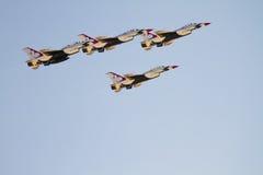 空军指明团结的雷鸟 免版税库存图片